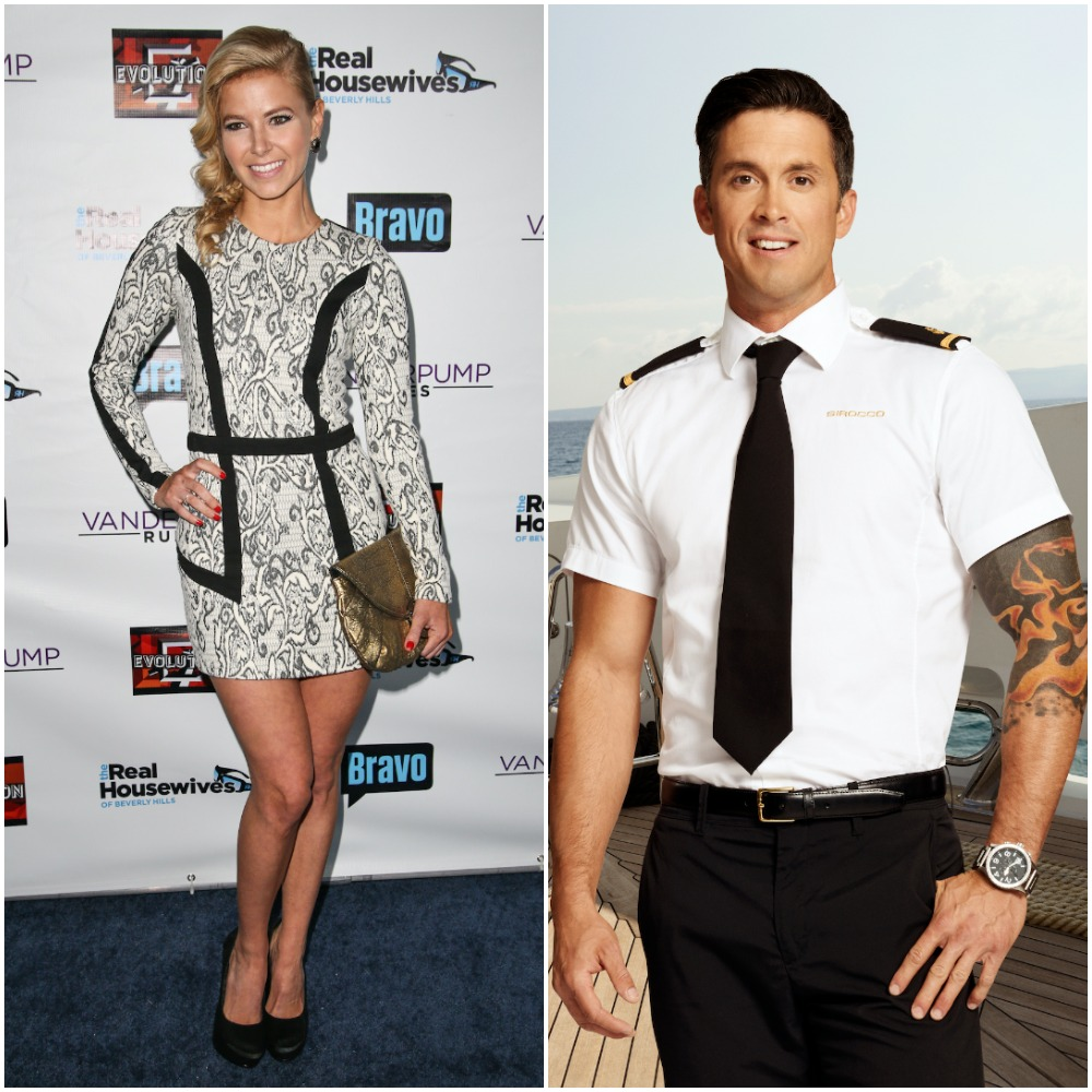 Ariana Madix from Vanderpump Rules and Bobby Giancola from Below Deck Mediterranean