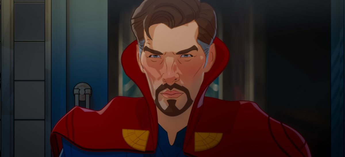 What If features Doctor Strange in animated form