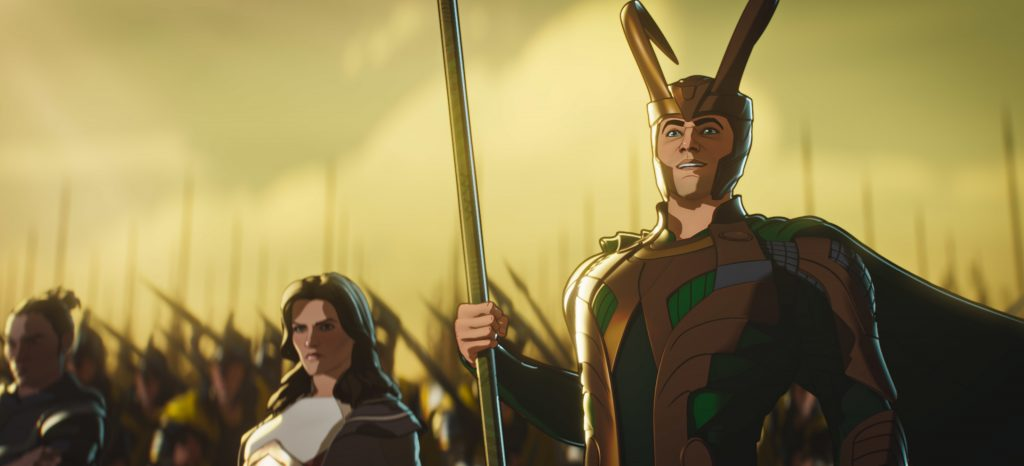 Loki and Lady Sif prepare for battle in What If