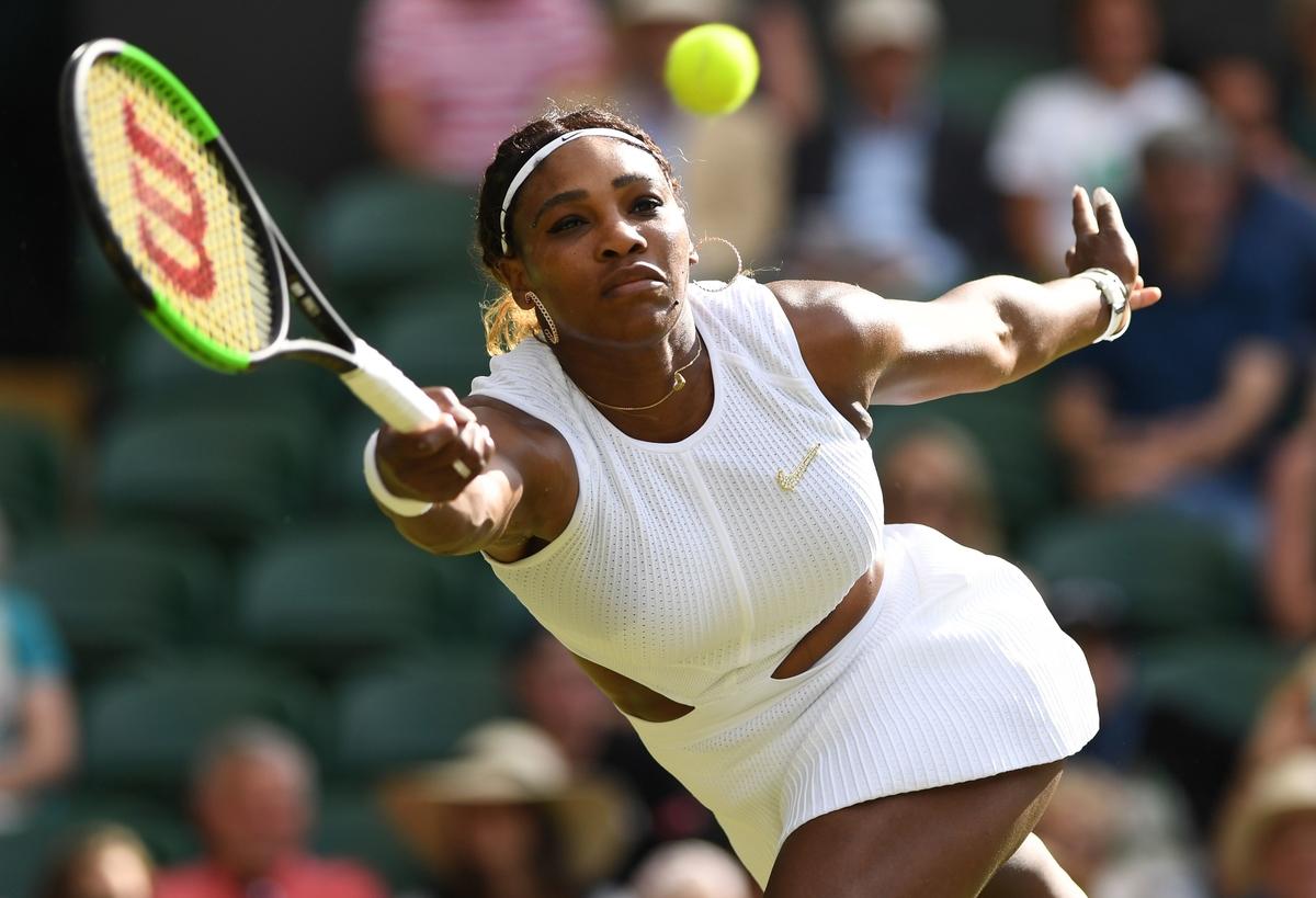 Serena Williams at the 2019 Wimbledon Championships