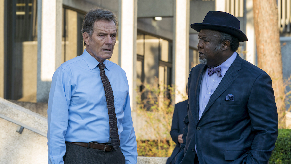 Bryan Cranston and Isiah Whitlock Jr in 'Your Honor'