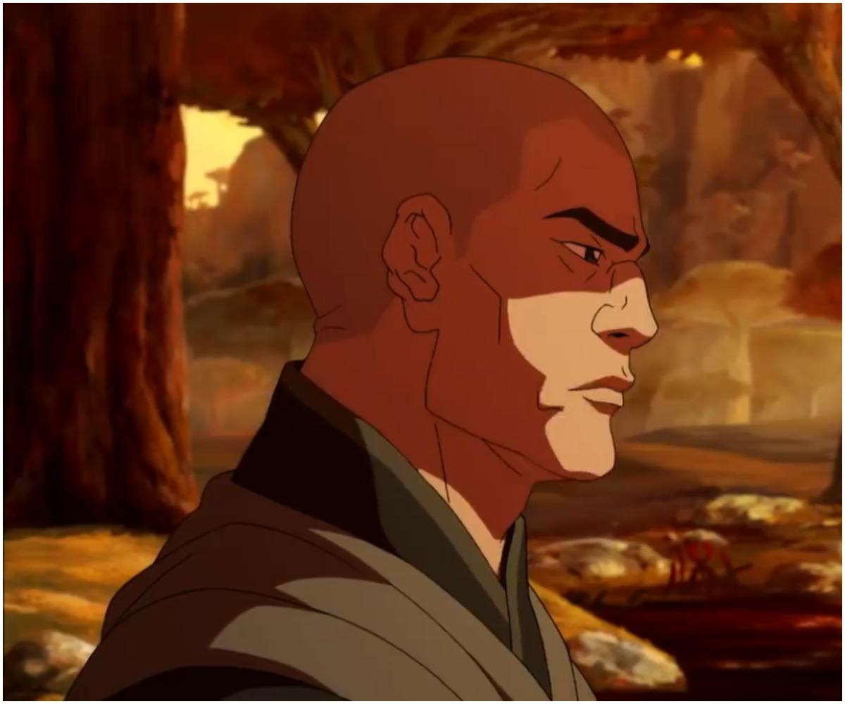 Zaheer in the Spirit World in 'Legend of Korra'