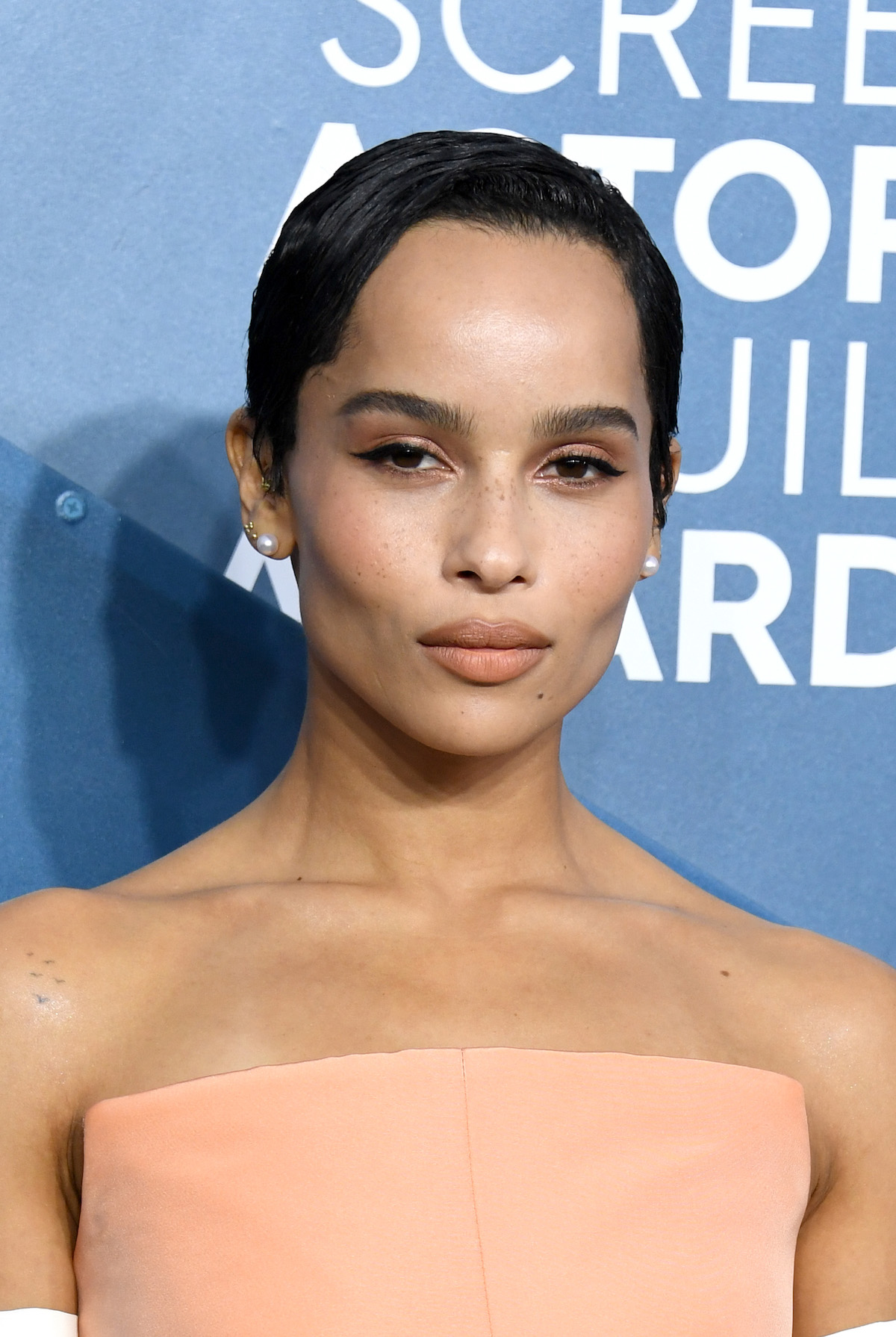 Zoë Kravitz attends the 26th Annual Screen ActorsGuild Awards at The Shrine Auditorium on January 19, 2020 in Los Angeles, California.