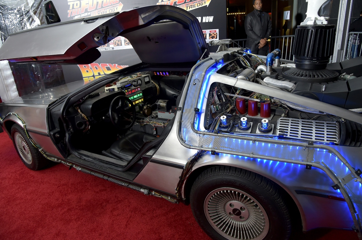 'Back to the Future' DeLorean DMC-12