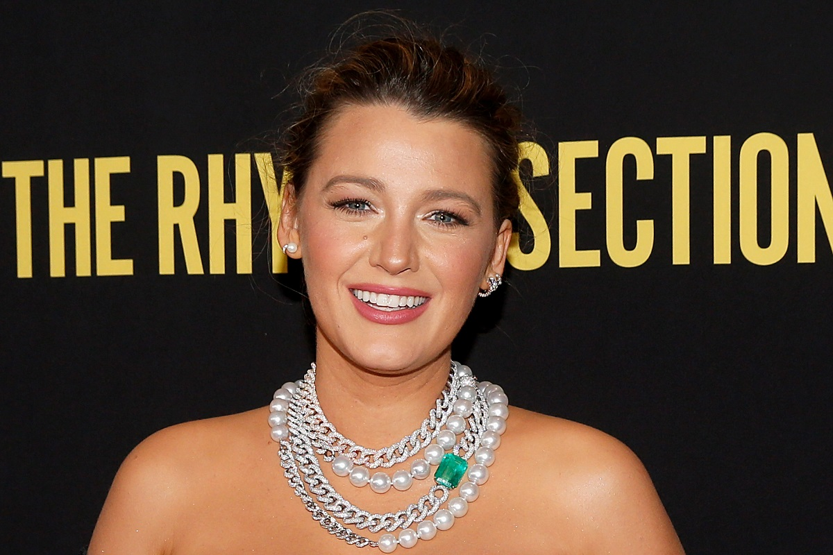 Blake Lively attends 'The Rhythm Section' New York Screening on January 27, 2020.