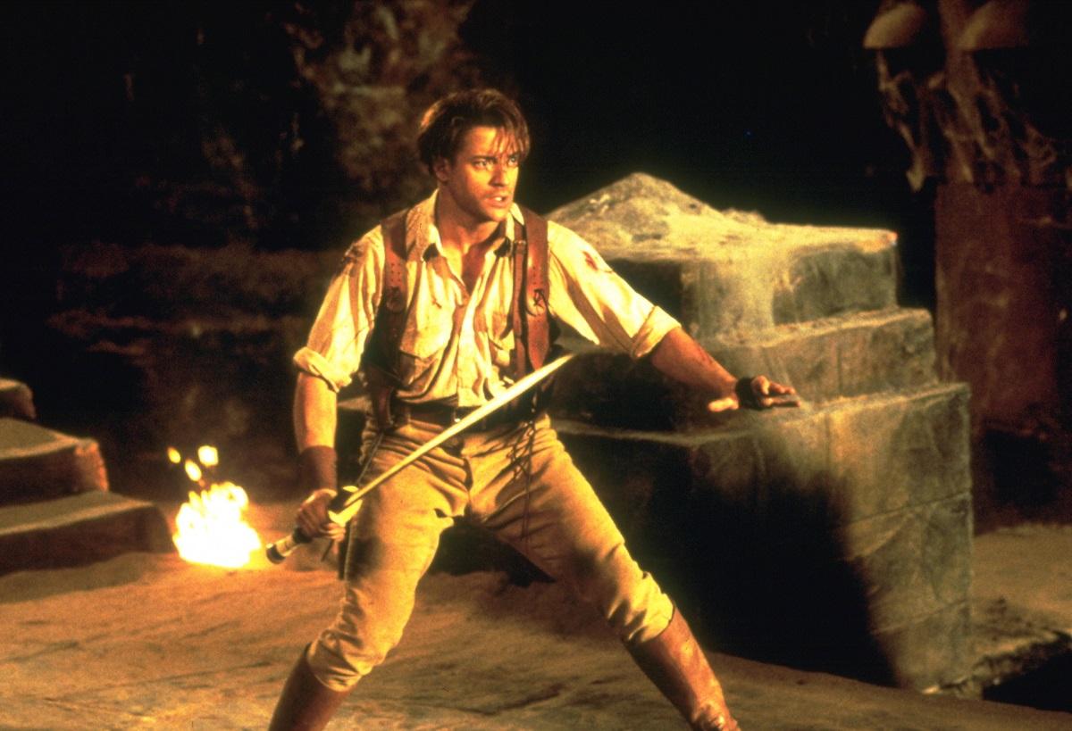 Brendon Fraser in 'The Mummy'