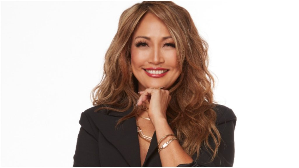 Carrie Ann Inaba poses for a DWTS promotional photo.