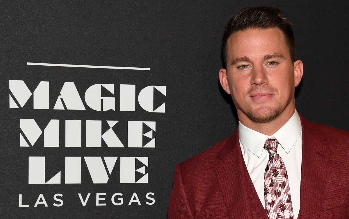Channing Tatum attends the grand opening of 'Magic Mike Live Las Vegas' on April 21, 2017.