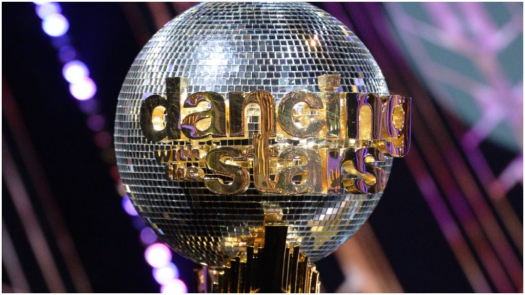 Dancing With the Stars mirrorball trophy.