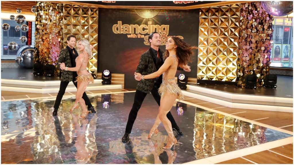 Dancing With the Stars pros perform on Good Morning America.