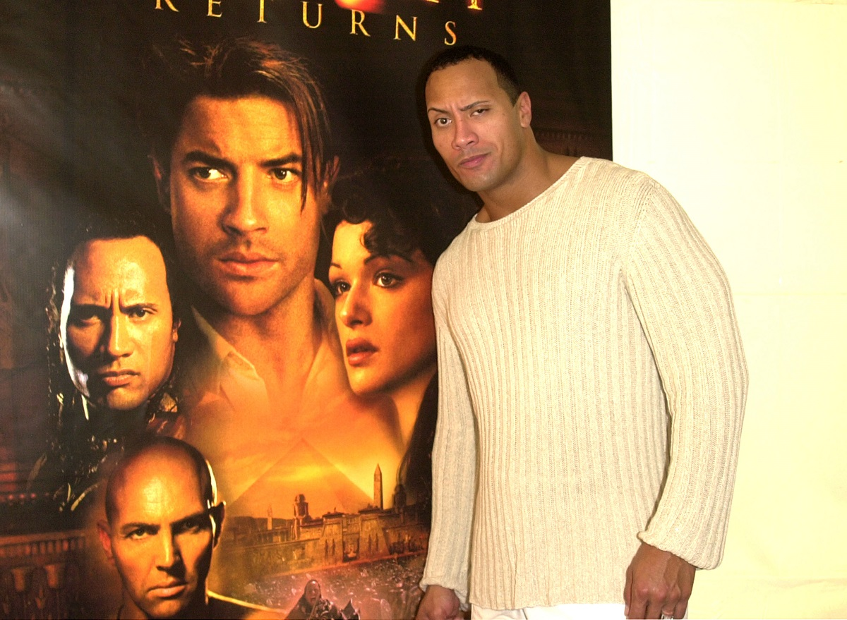 Dwayne 'The Rock' Johnson during 'The Mummy Returns' DVD & Video Release Event in Santa Monica, California, United States.