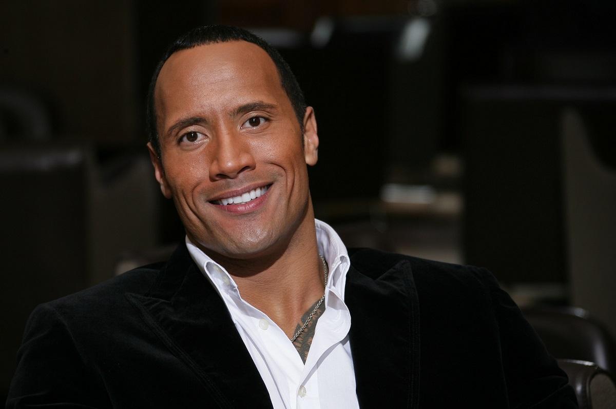 Dwayne Johnson aka The Rock in 2005