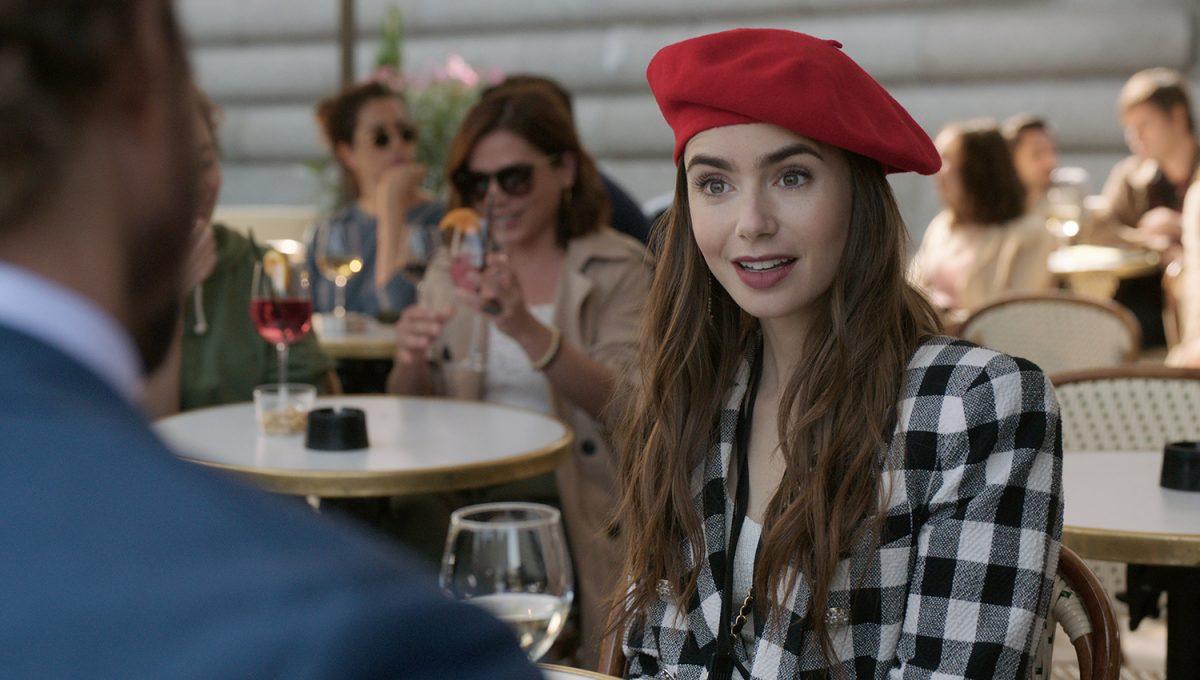 Lily Collins as Emily in 'Emily in Paris'