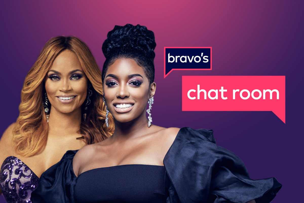 Gizelle Bryant and Porsha Williams co-host 'Bravo's Chat Room'