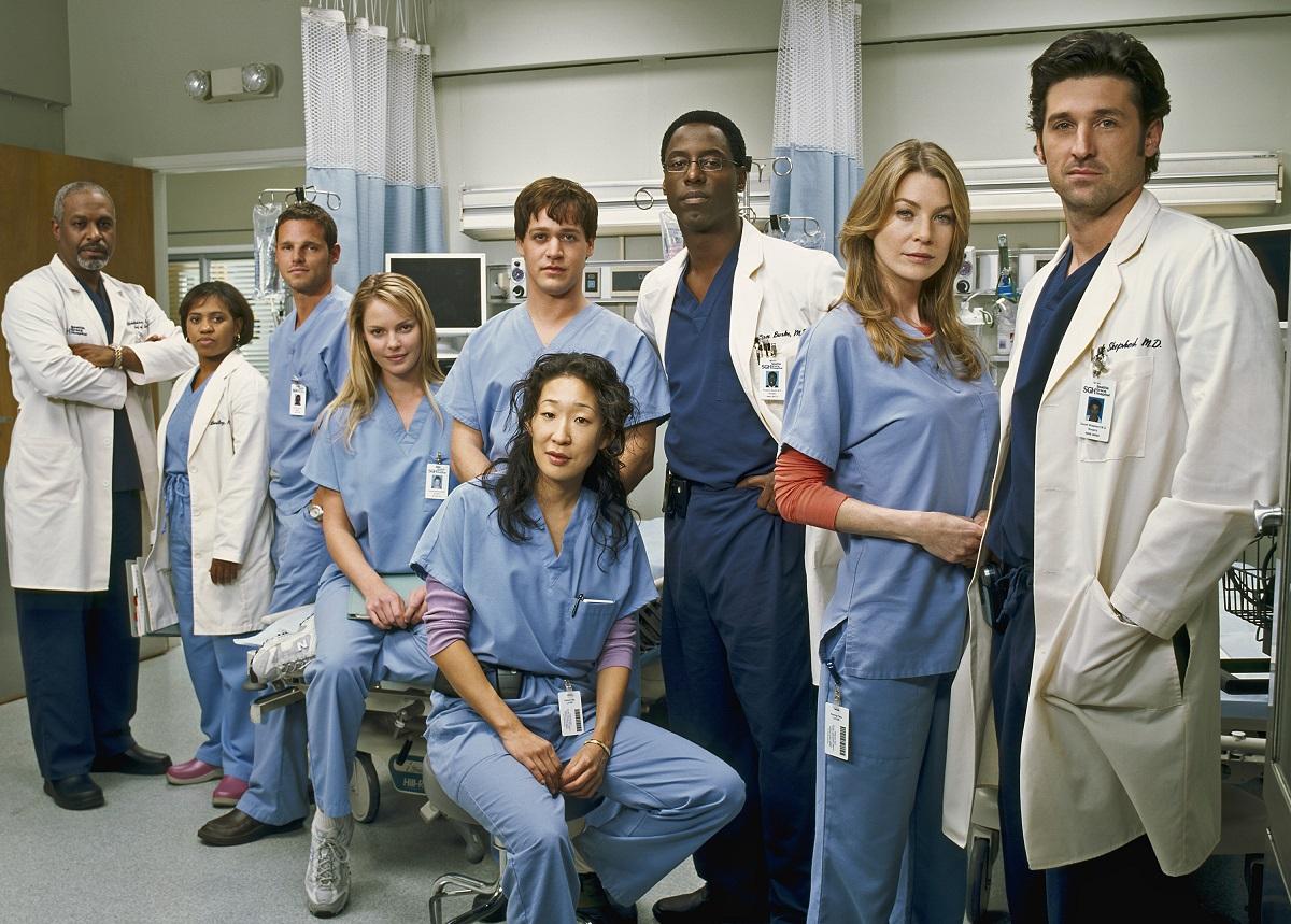 'Grey's Anatomy' Season 1 cast