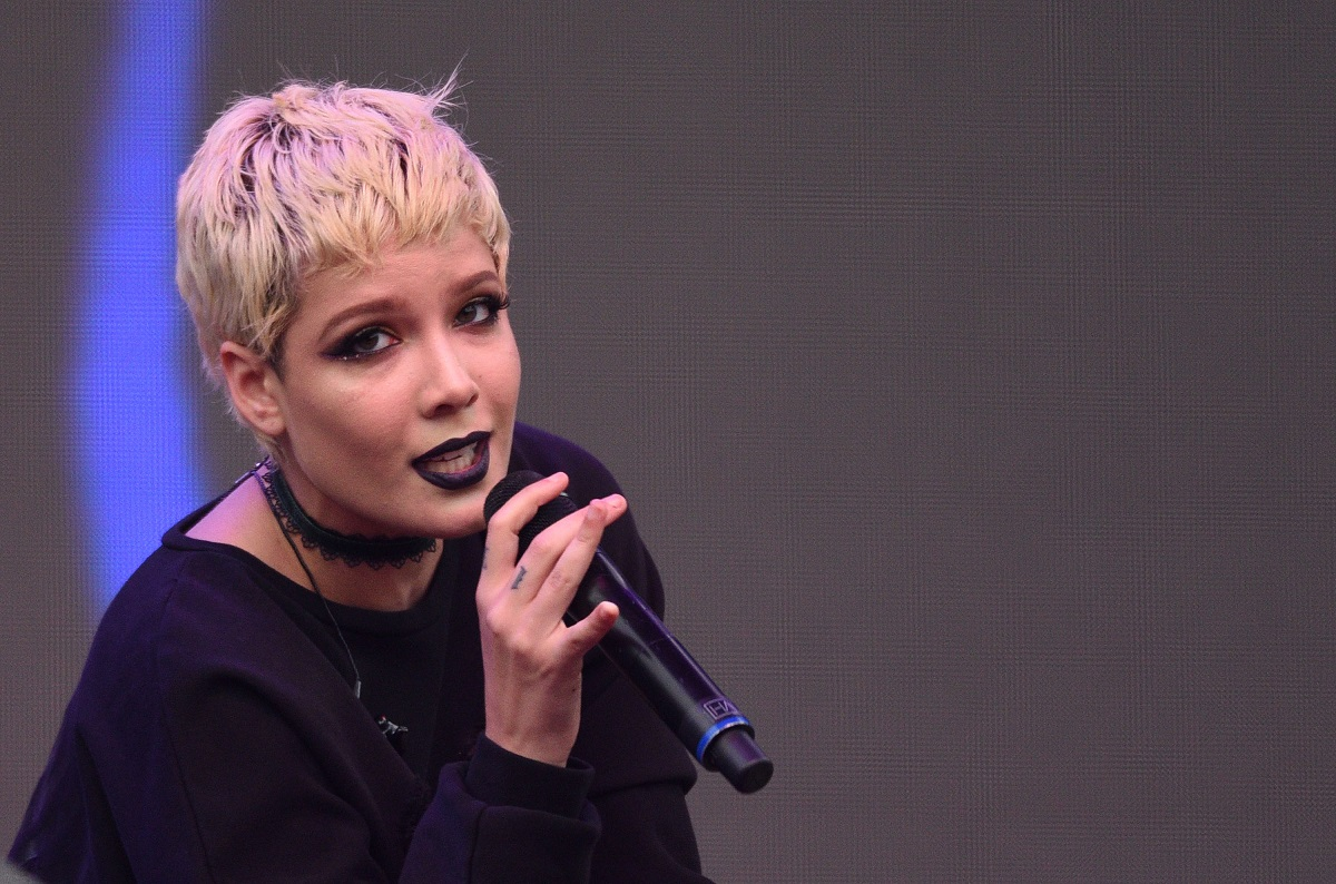 Halsey performs during the 2016 Outside Lands Music And Arts Festival at Golden Gate Park on August 6, 2016, in San Francisco, California.