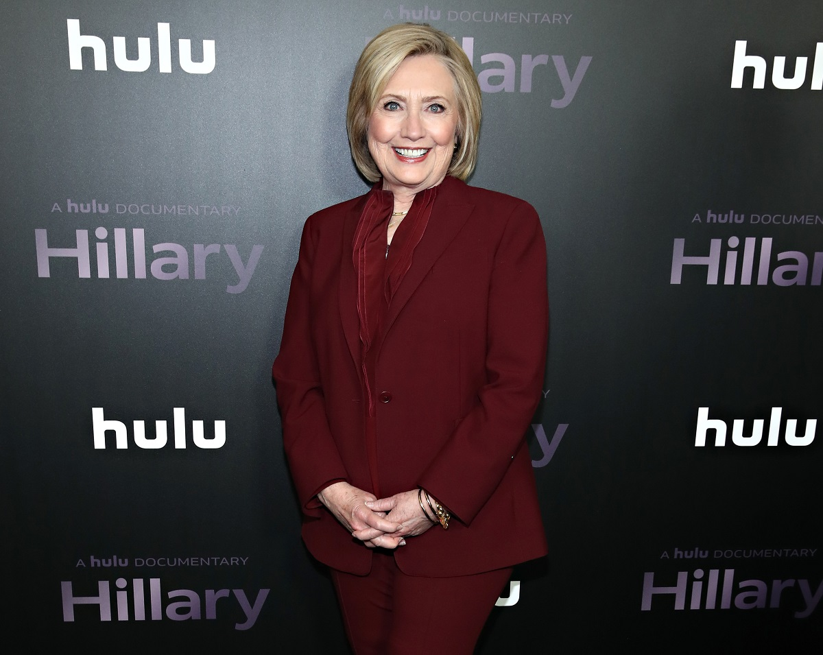 Hillary Clinton attends the 'Hillary' New York Premiere at Directors Guild of America Theater on March 04, 2020, in New York City.