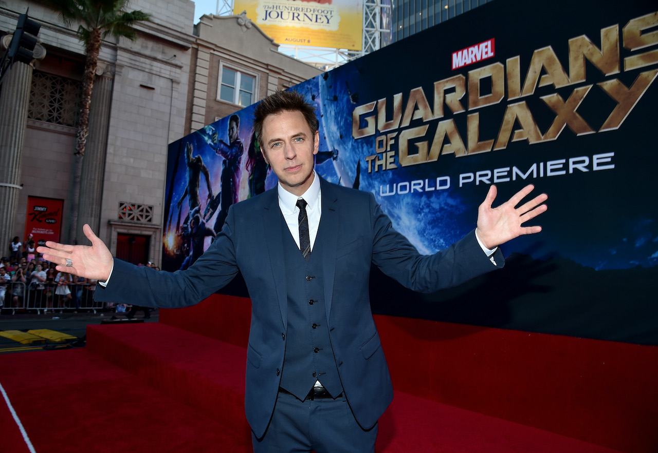 James Gunn attends The World Premiere of 'Guardians of the Galaxy'