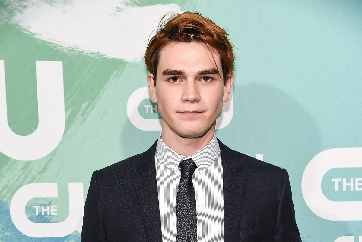 KJ Apa of 'Riverdale' attends The CW's 2016 New York Upfront