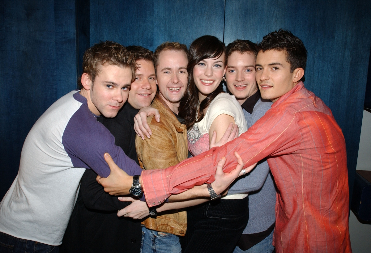 'The Lord of the Rings' cast Dominic Monaghan, Sean Astin, Billy Boyd, Liv Tyler, Elijah Wood, and Orlando Bloom