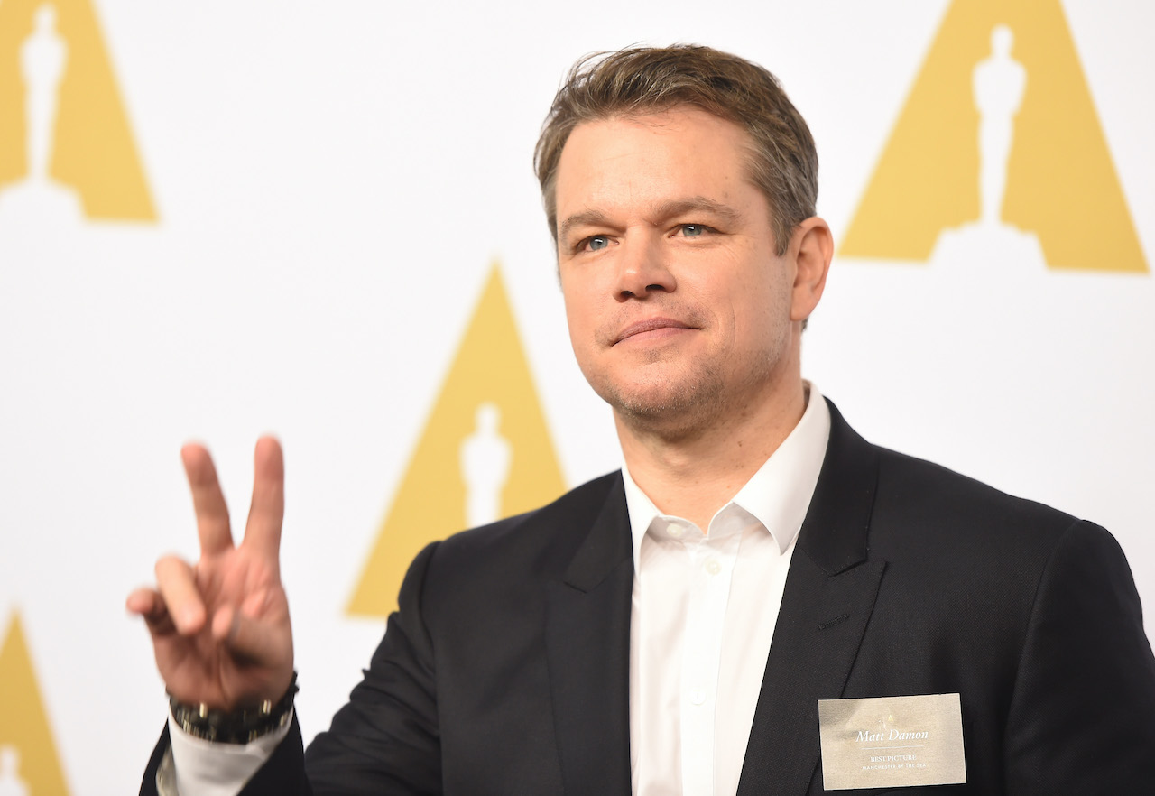 Matt Damon attends the 89th Annual Academy Awards Nominee Luncheon at The Beverly Hilton Hotel