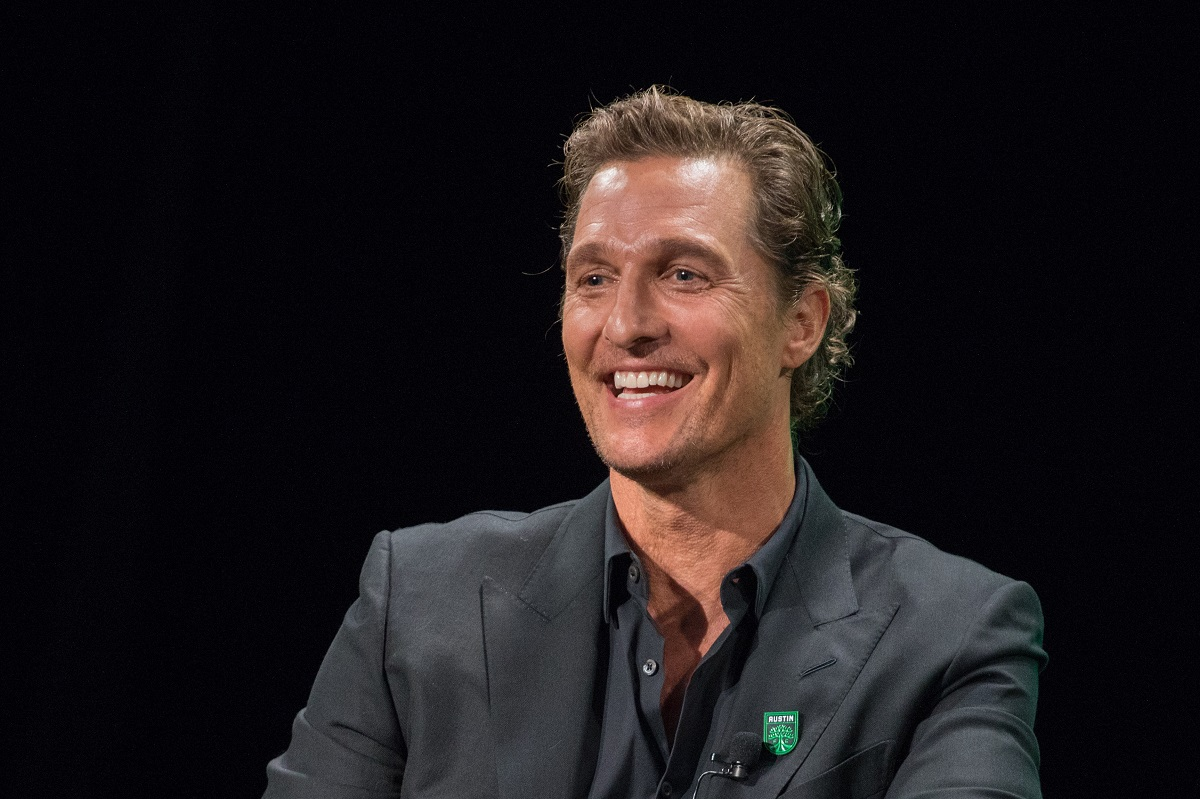 Matthew McConaughey, Academy Award-winning actor attends the Austin FC Major League Soccer club announcement of four new investors including himself as the 'Minister of Culture' at 3TEN ACL Live on August 23, 2019 in Austin, Texas.