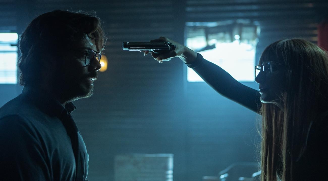 'Money Heist' Season 5 with Álvaro Morte as Professor, Najwa Nimri as Alicia Sierra