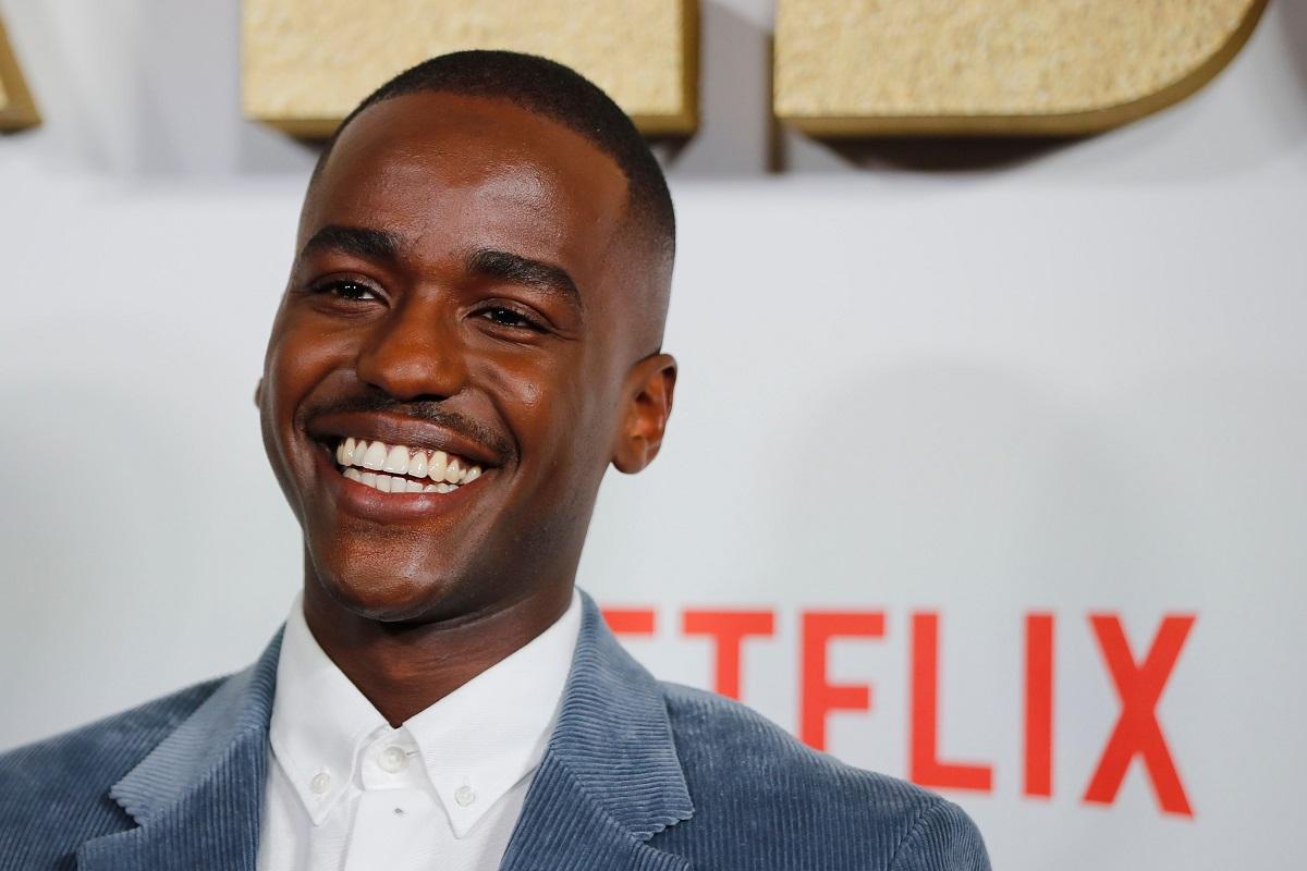 Ncuti Gatwa at the world premiere of Netflix's 'Sex Education' Season 2 in London on January 8, 2020.
