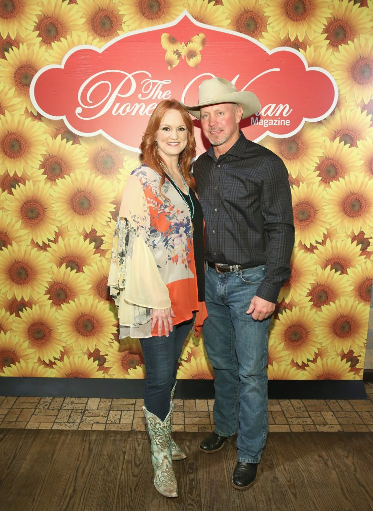 Ree Drummond and Ladd Drummond pose for a photo during The Pioneer Woman Magazine Celebration with Ree Drummond at The Mason Jar on June 6, 2017