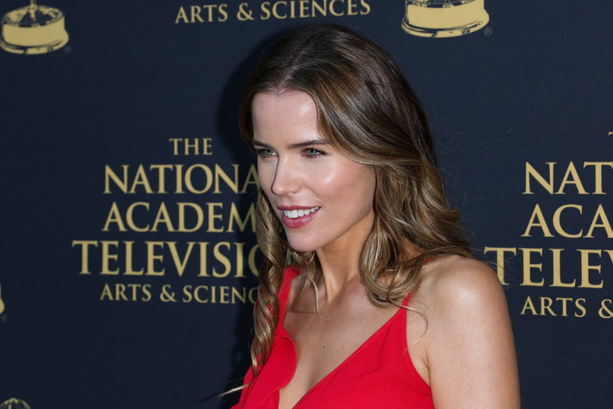 'General Hospital' actor Sofia Mattsson poses at the 2019 Daytime Emmy Awards Nominee reception