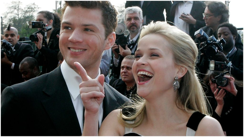 Reese Witherspon and Ryan Phillippe at the SAG Awards.