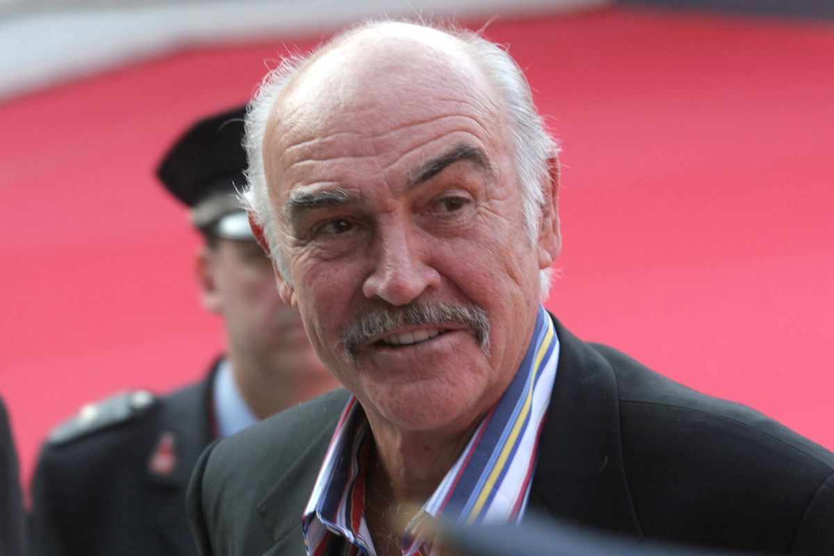 Sean Connery at the 1st Annual Rome Film Festival, 2006