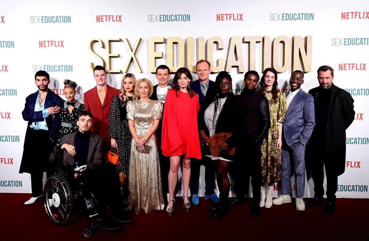 'Sex Education' Season 2 cast