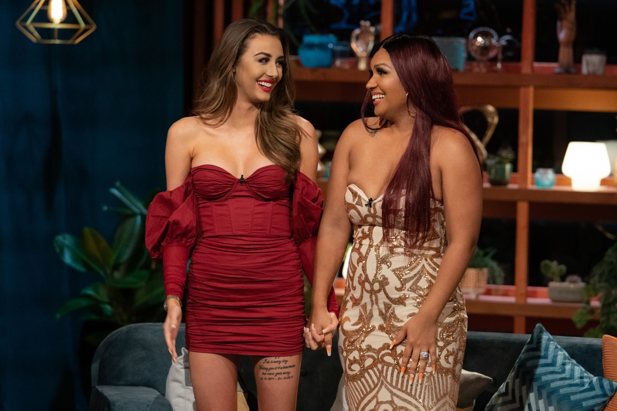 Netflix's 'The Circle' with Chloe Veitch and Deleesa St Agathe