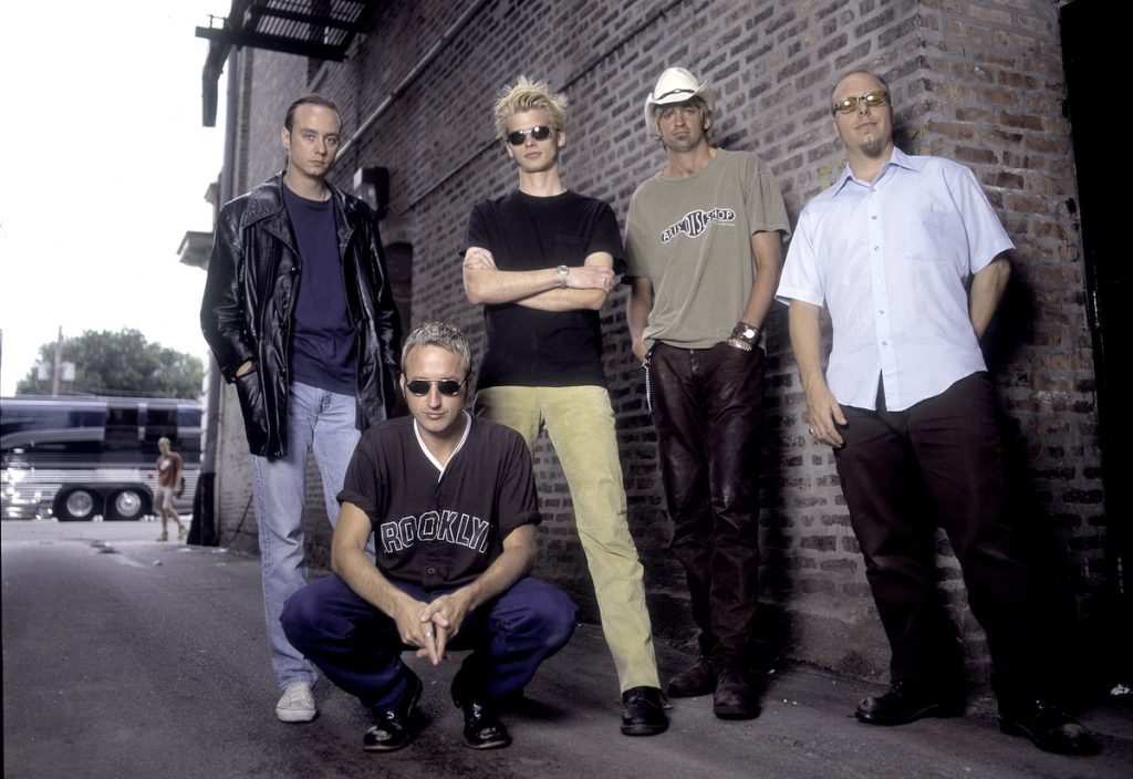 Verve Pipe at the Vic Theater in Chicago Illinois, August 29, 1997.