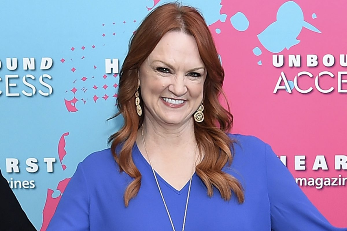 Ree Drummond smiling during an event