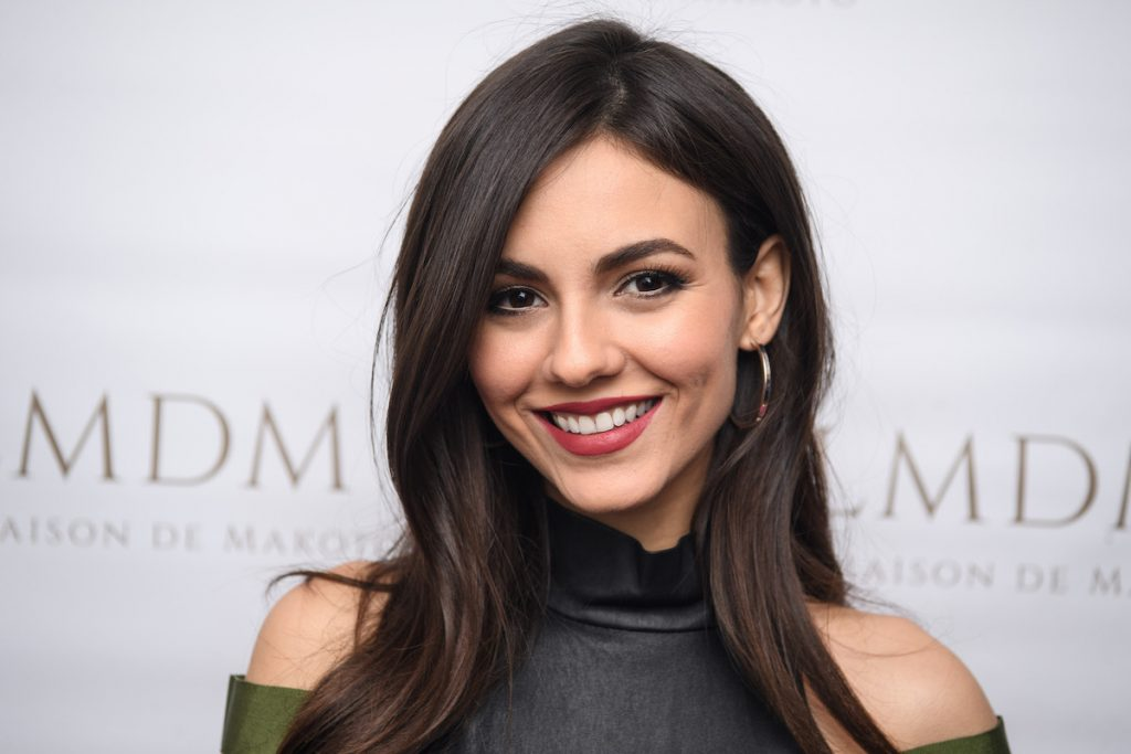 Victoria Justice attends the LMDM Grand Opening