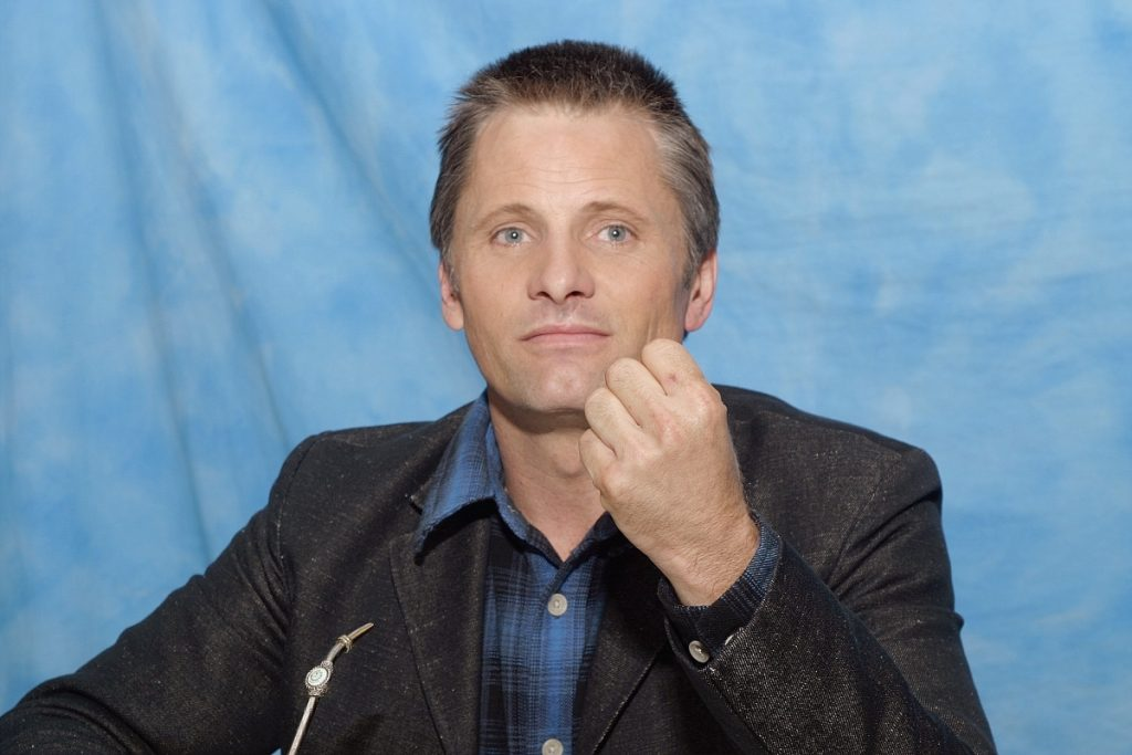 Viggo Mortensen at press junket for 'Lord of the Rings: Return of the King' in 2003