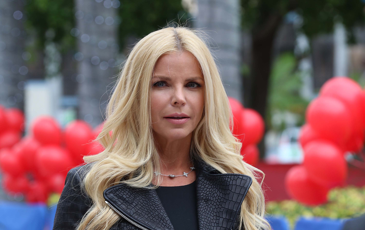 'Cocaine Cowboys' and 'Real Housewives of Miami' star Alexia Echevarria attends Annie Miami Walk Of Fame Ceremony at Bayside Marketplace on December 9, 2014 in Miami, Florida