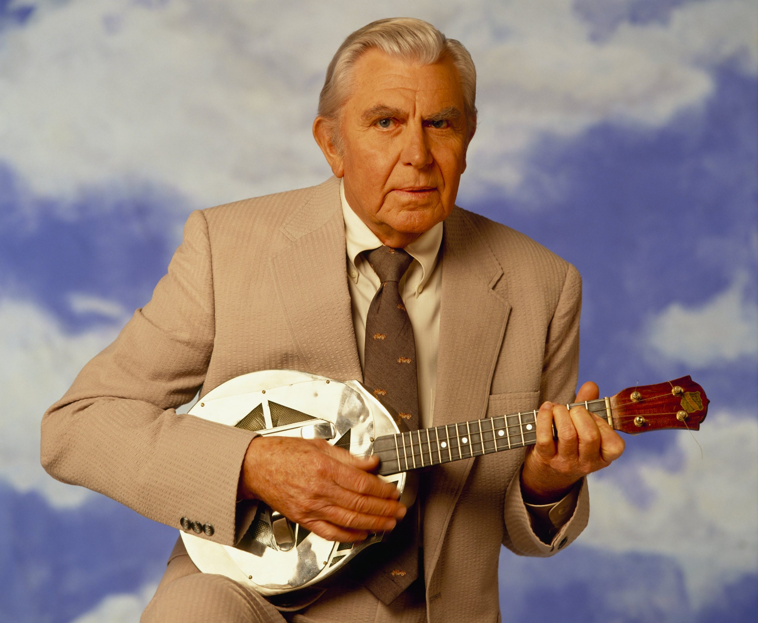 Actor Andy Griffith in 1992