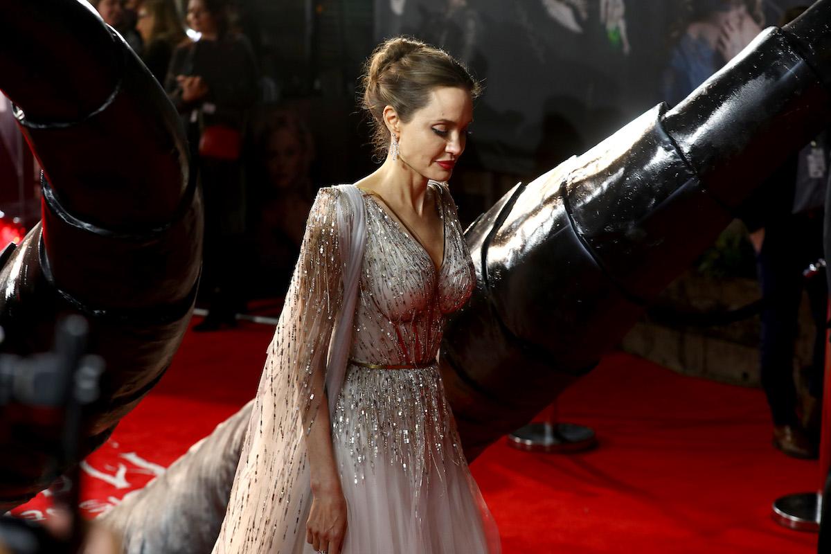 Angelina Jolie in long dress