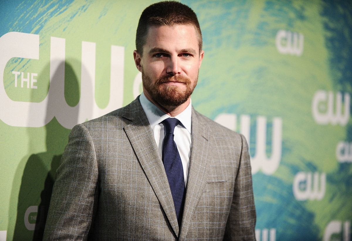 Stephen Amell of the series 'Arrow' attends The CW Network's 2016 New York Upfront at The London Hotel on May 19, 2016 in New York City