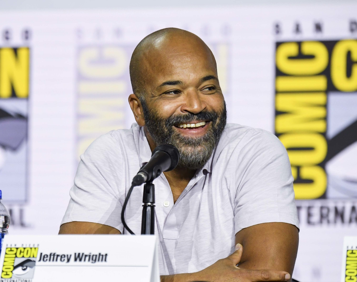 "Jeffrey Wright at ""Westworld"" Comic Con Panel"