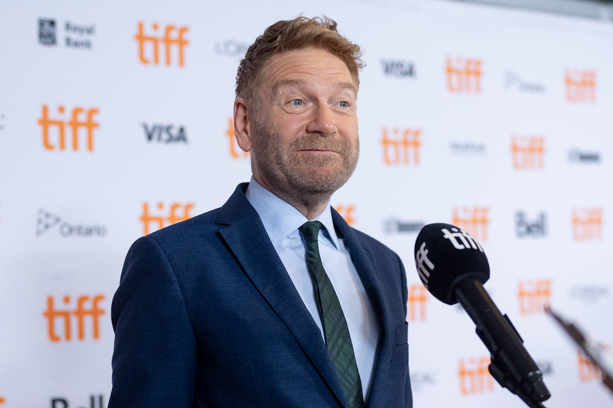 """Kenneth Branagh attends the """"Belfast"""" Premiere during the 2021 Toronto International Film Festival at Roy Thomson Hall on September 12, 2021 in Toronto, Ontario."""