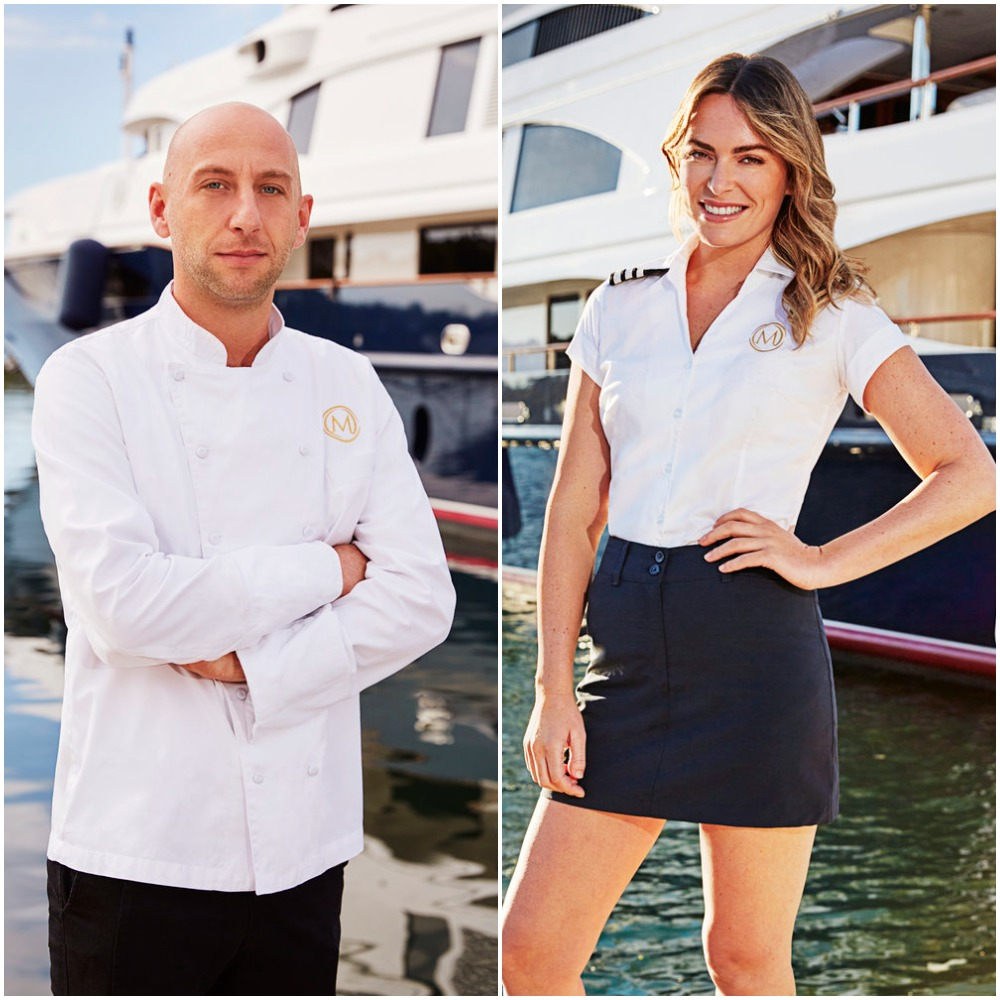 Chef Mathew Shea and Katie Flood from Below Deck Mediterranean