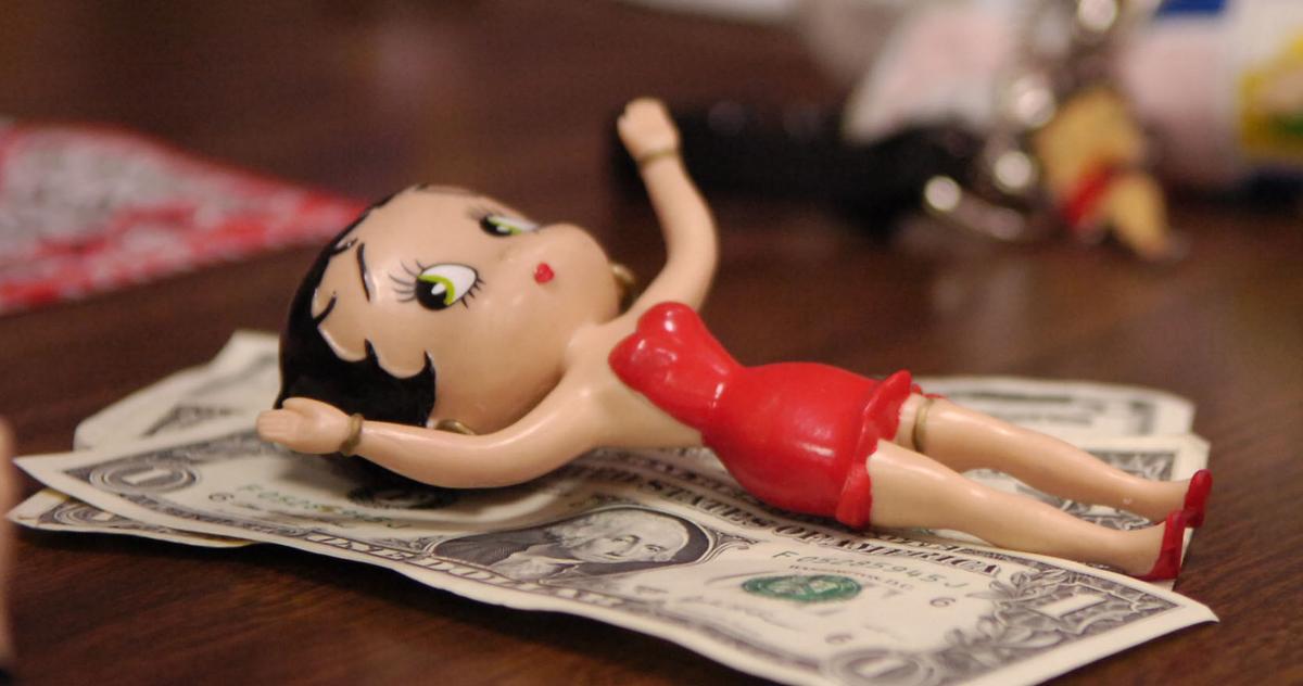 Betty Boop figure