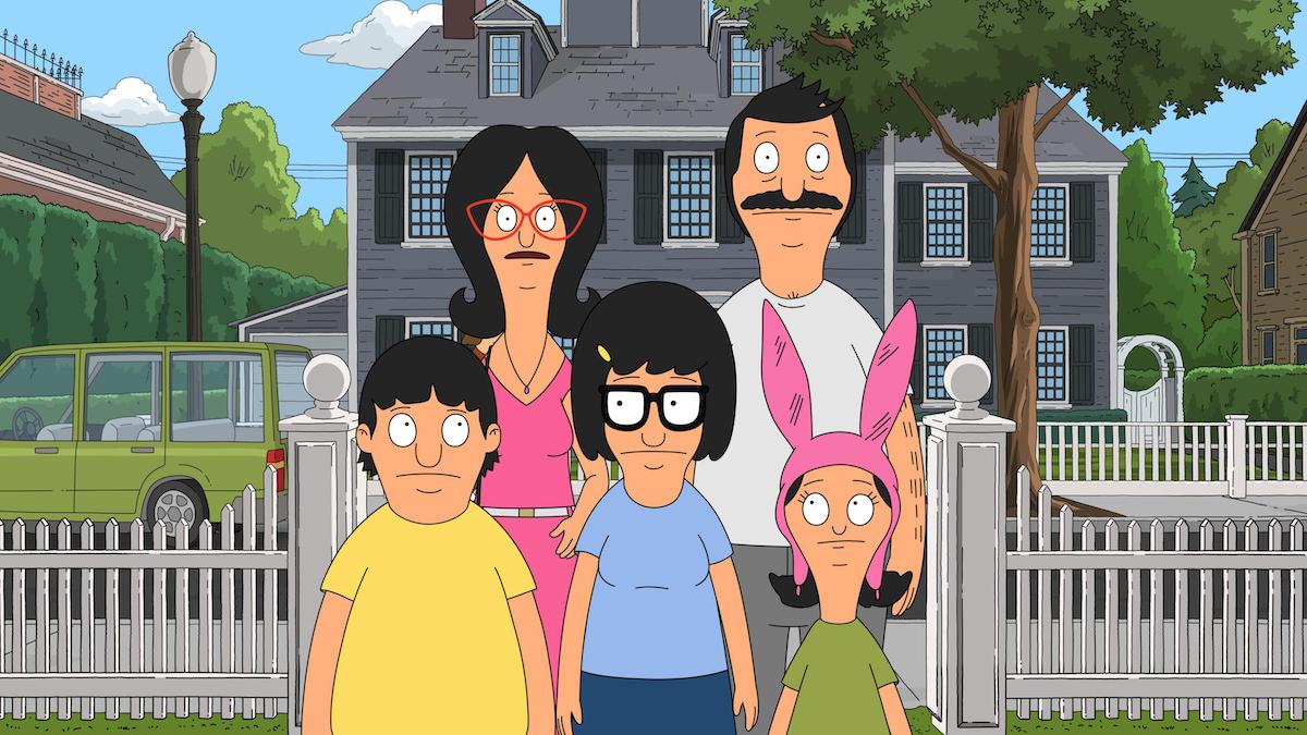 'Bob's Burgers' family standing outside