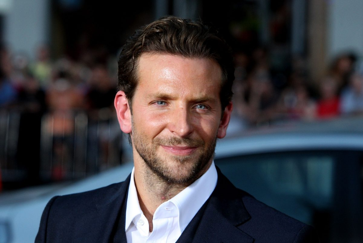 Bradley Cooper, star of Guillermo del Toro's Nightmare Alley movie, promoting a movie for 20th Century
