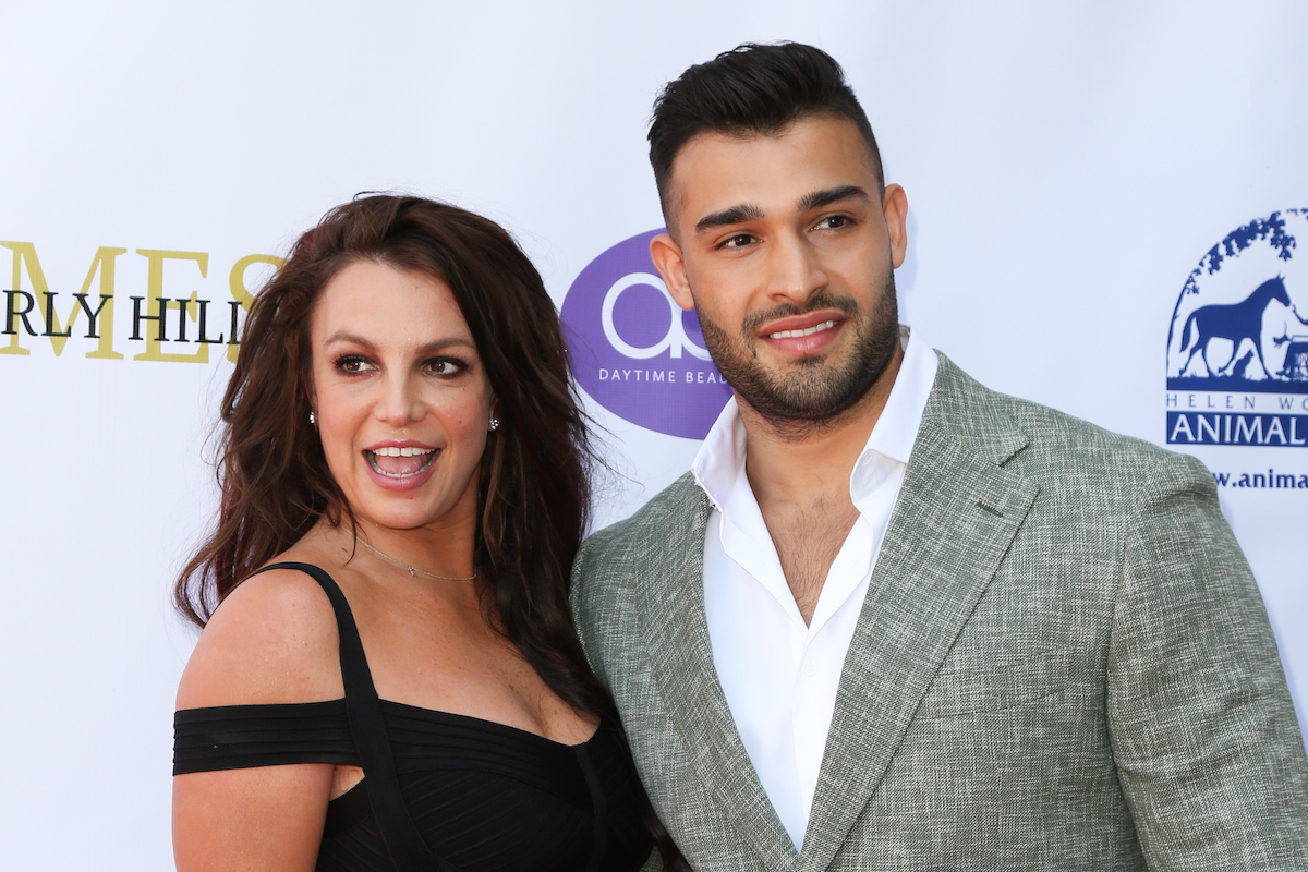 Britney Spears and Sam Asghari attend the Daytime Beauty Awards
