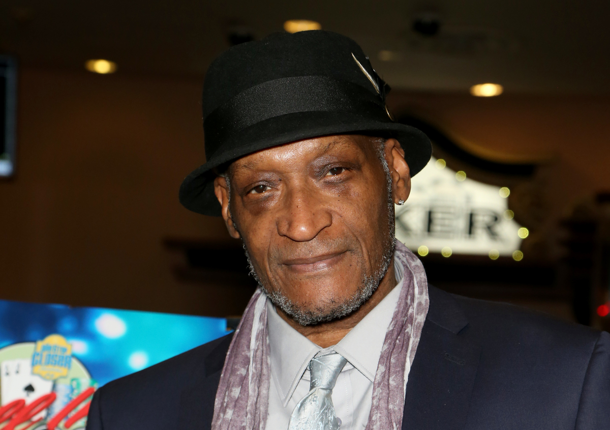 Tony Todd at the All in for CP celebrity charity poker event